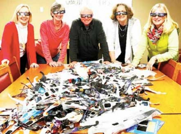 Recycled Eclipse Glasses Get New Homes